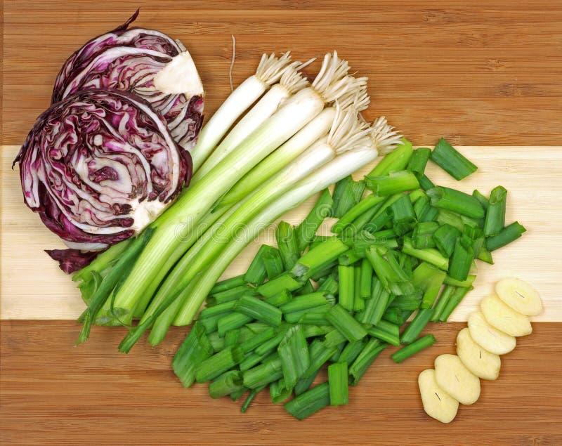Grandes vegetais da vista foto de stock