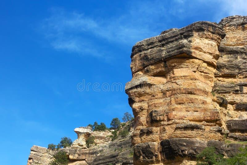 Grandet Canyon vaggar bildande fotografering för bildbyråer