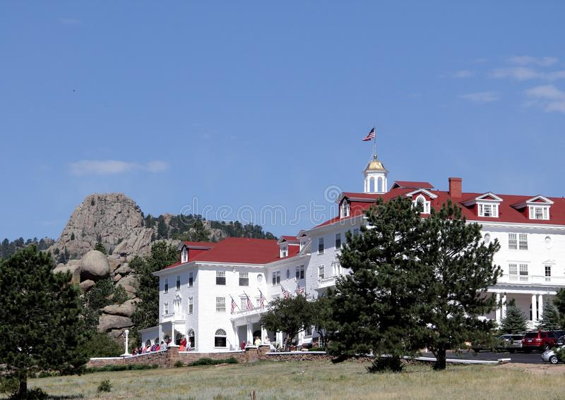 The Grandeur of the Stanley Hotel royalty free stock photo