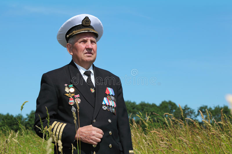 Download Grandfather In Form Stand Near Forest Stock Photos - Image: 27198923