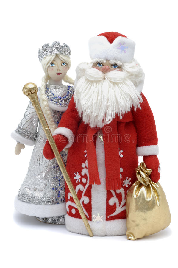 Free Grandfather Frost With Snowmaiden Royalty Free Stock Images - 11701689