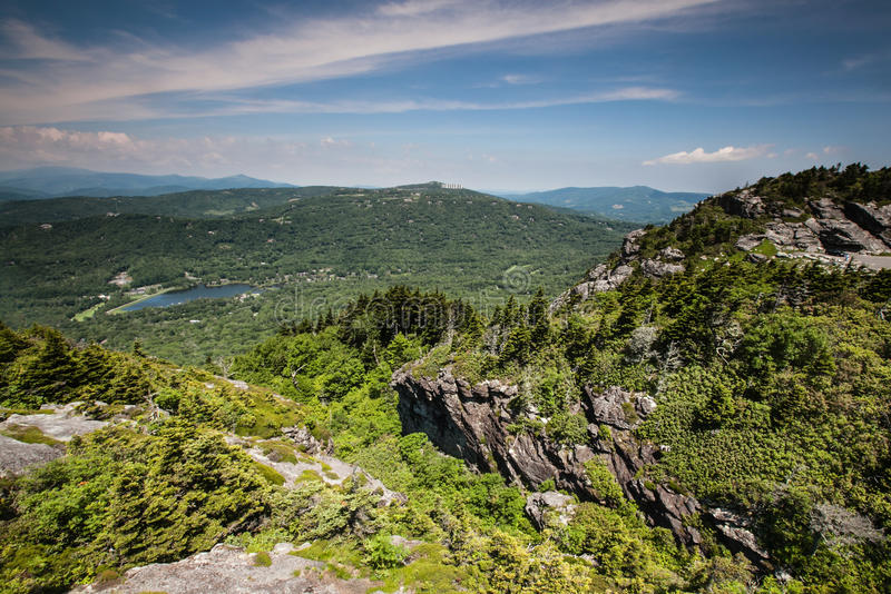 Grandfather Mountain Landscape North Carolina royalty free stock photo