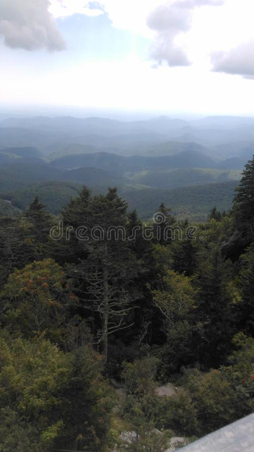 Grandfather mountain stock photo