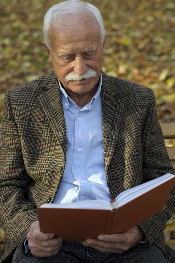 Download Grandfather Portrait In Park Stock Photo - Image: 6945902