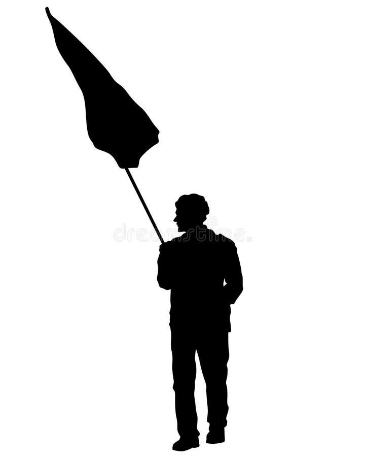 Grandi bandiere una royalty illustrazione gratis