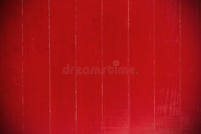 Grandi bordi di legno rossi strutturati o fondo delle plance Il legno è usato per creare una fabbricazione della mobilia o della  immagini stock libere da diritti
