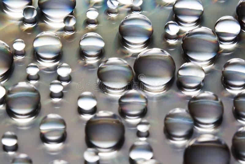 Grandi e piccole bolle dell'acqua immagine stock libera da diritti