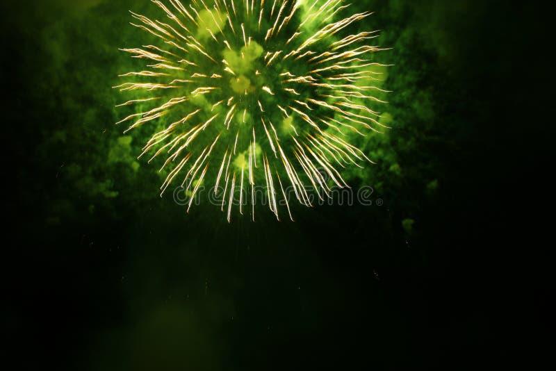 Grandi fuochi d'artificio fotografie stock