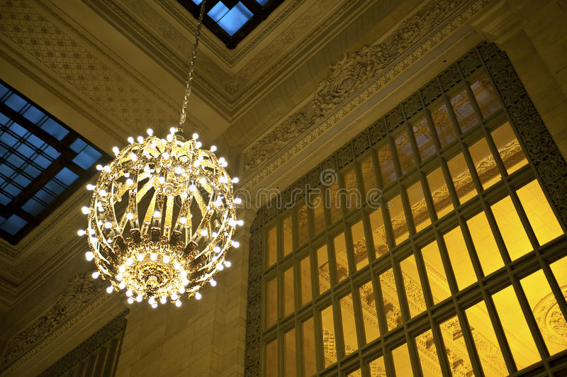 Grandi lampadari a bracci fotografia stock