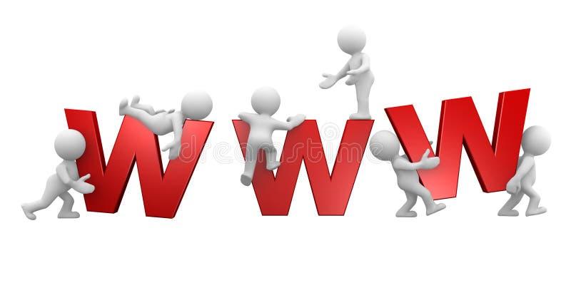 Grandi lettere di WWW