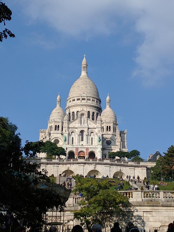 Grandi monumenti a Parigi fotografie stock