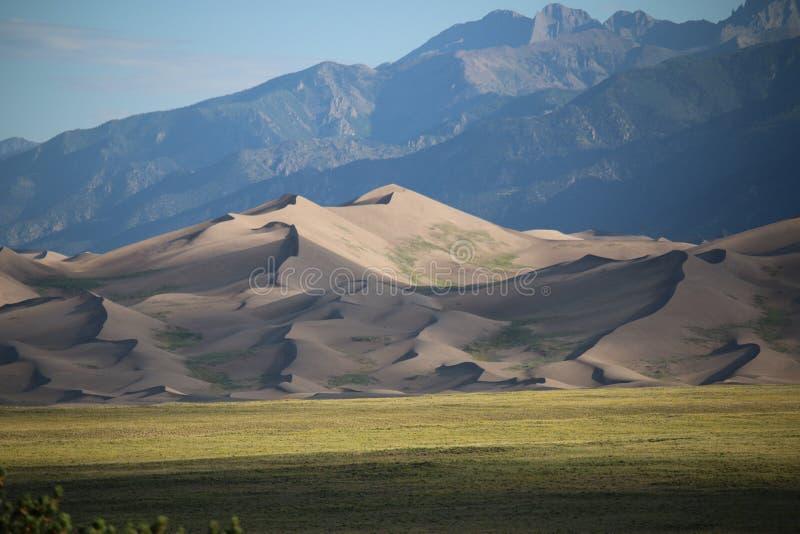 Grandi sosta nazionale e conserva delle dune di sabbia fotografia stock