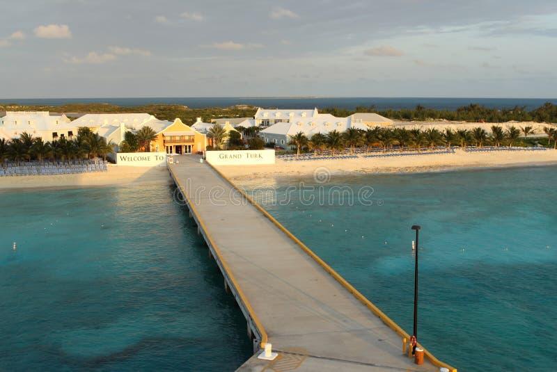 Grandi Turco e Caicos fotografia stock libera da diritti