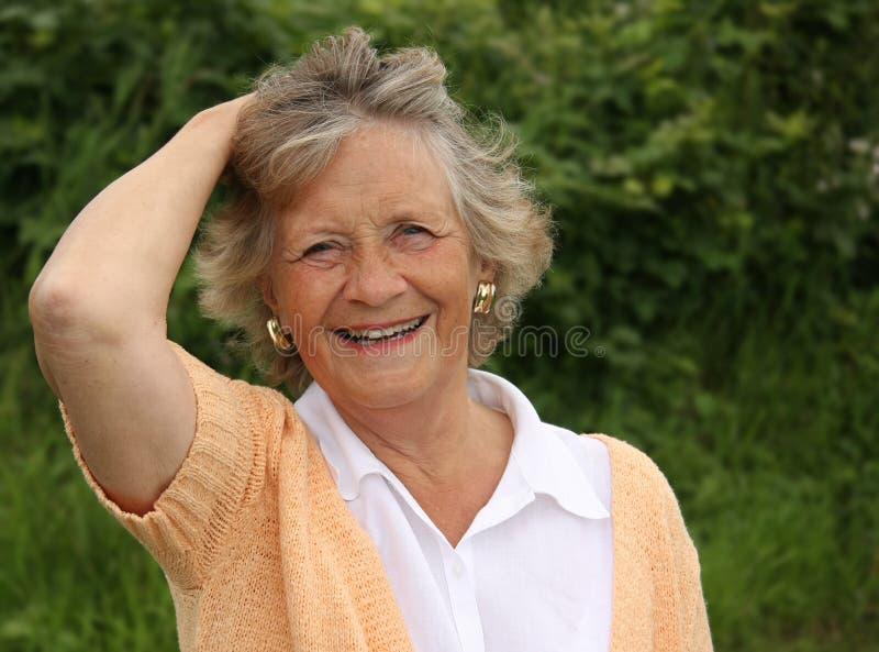 Download Grandma stock image. Image of retired, attractive, smile - 5684445