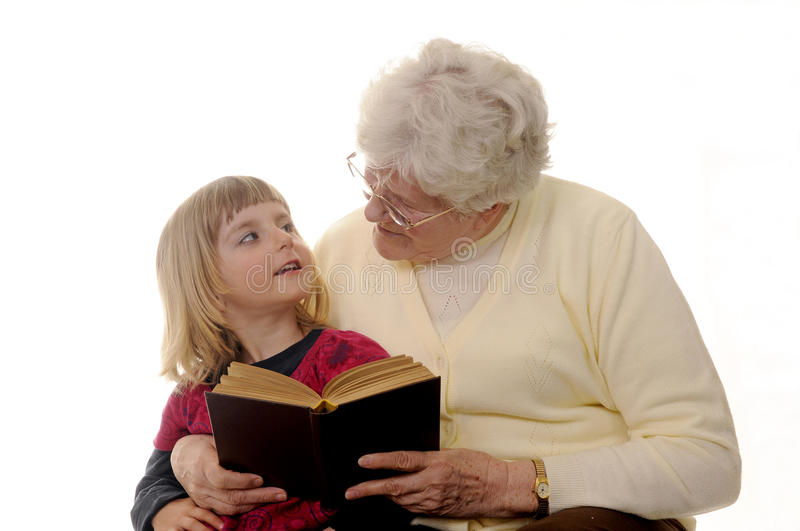 Download Grandma and granddaughter stock photo. Image of generations - 14456568