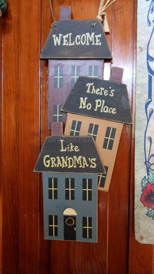 grandma& x27 ; maison de s photos libres de droits