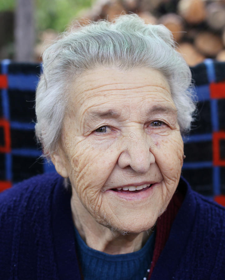 Grandma royalty free stock photo