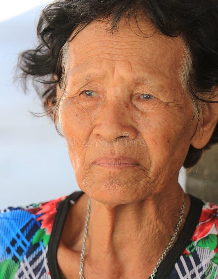 Grandma& x27;s waiting. royalty free stock images