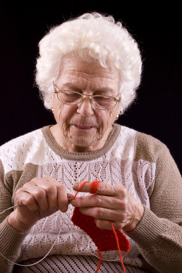 Download Grandmother stock photo. Image of mommy, blanket, hand - 12854124