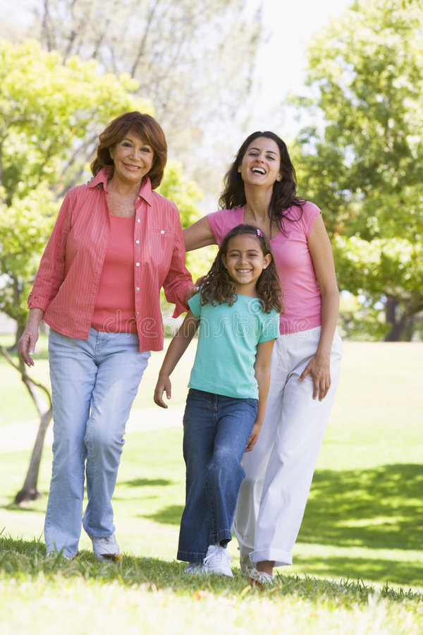 Download Grandmother With Adult Daughter And Grandchild Stock Photo - Image: 5469056