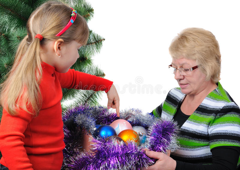Download Grandmother With The Grand Daughter Stock Photo - Image: 21165318