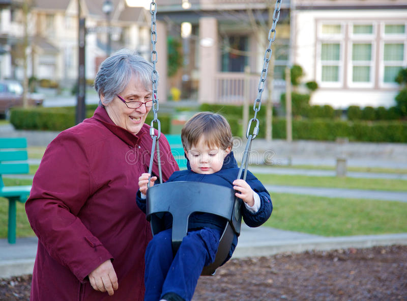 Download Grandmother and grandchild stock photo. Image of people - 22824084
