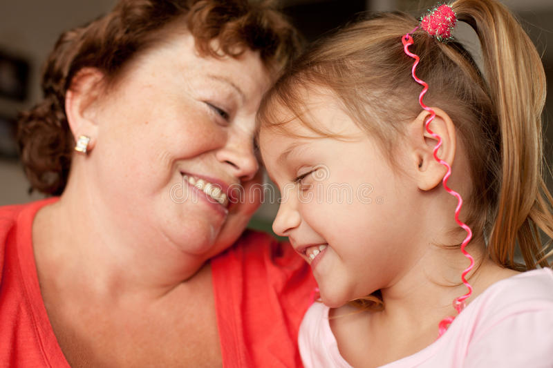 Download Grandmother and grandchild stock photo. Image of grandmother - 26185712