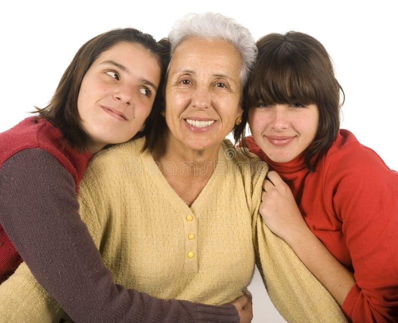 Download Grandmother And Grandchildren Stock Photo - Image: 4065556