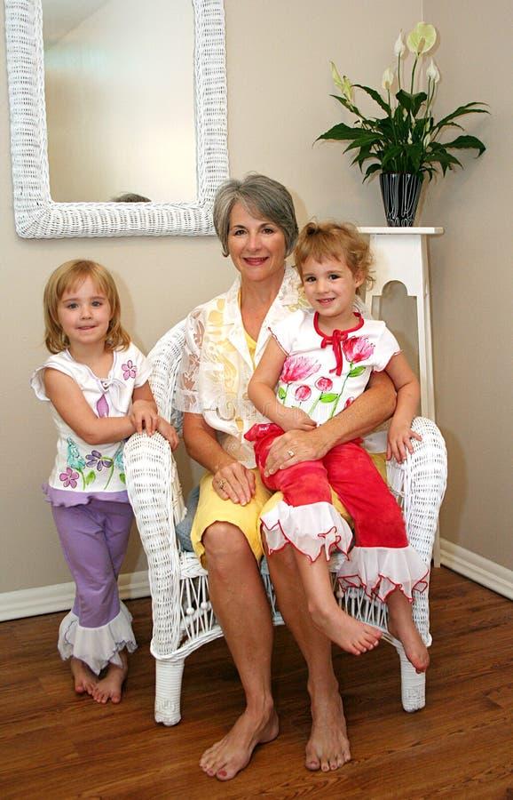 Download Grandmother And Grandchildren Stock Photo - Image: 5981660