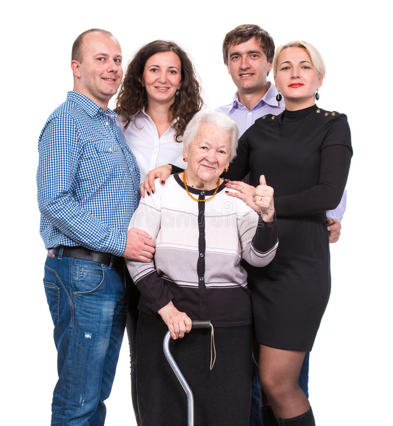 Download Grandmother With Grandchildren Stock Image - Image: 35319709