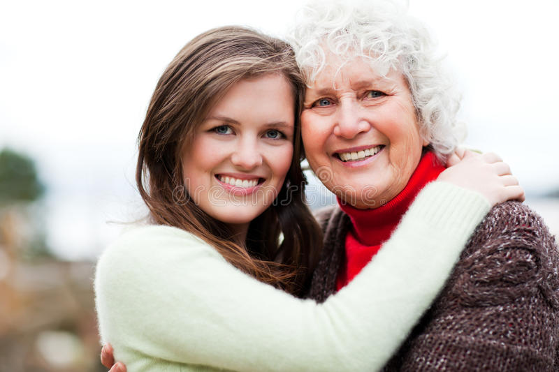Download Grandmother And Granddaughter Stock Photo - Image: 17432724