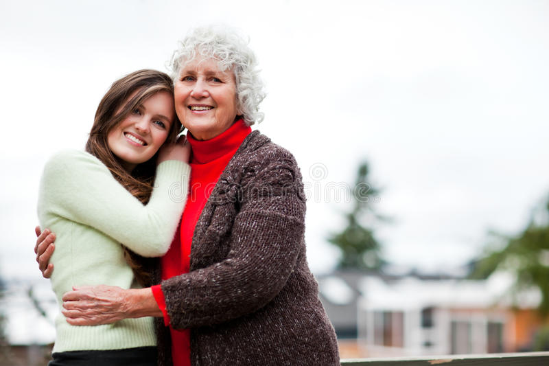 Download Grandmother And Granddaughter Stock Image - Image: 17901181