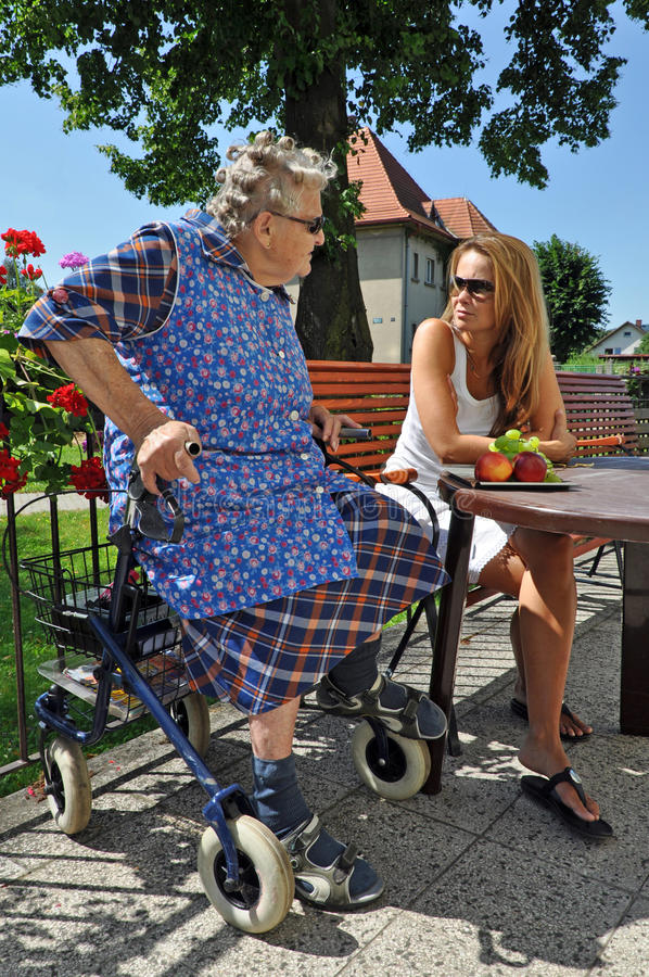 Download Grandmother And Granddaughter Stock Photo - Image: 22003448