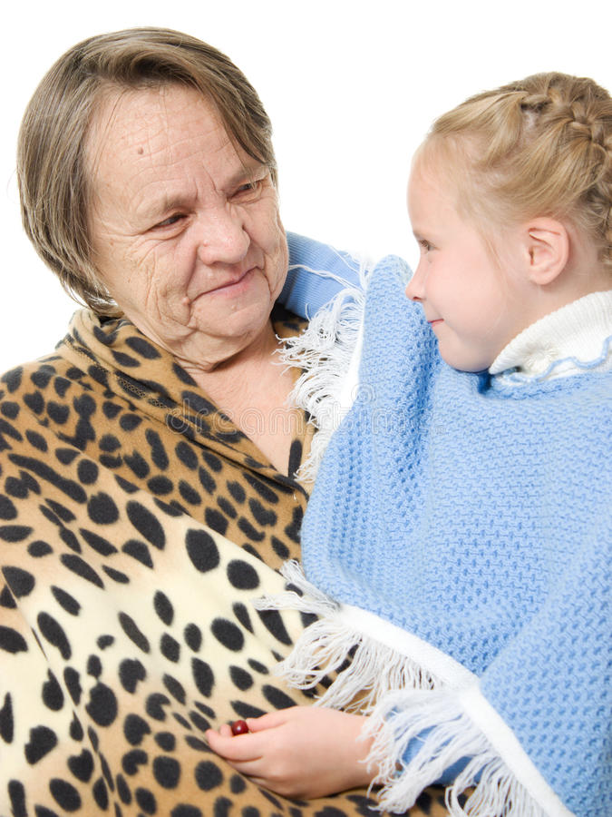 Download Grandmother And Granddaughter Stock Image - Image: 22817255