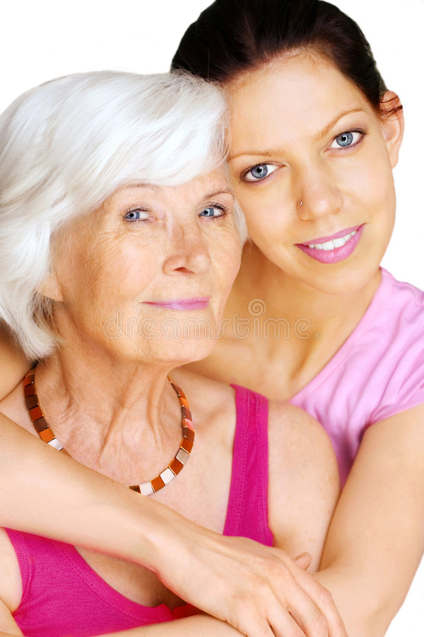 Download Grandmother And Granddaughter Stock Image - Image of beautiful, face: 9350769