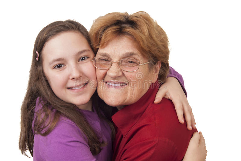 Download Grandmother And Granddaughter Hugging Stock Photo - Image: 30874408