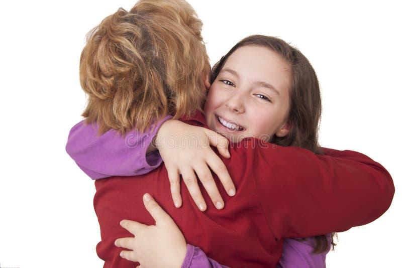Download Grandmother And Granddaughter Hugging Stock Image - Image: 30874621