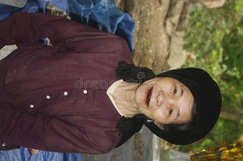 Download Grandmother Kinh stock image. Image of portrait, custom - 15059535