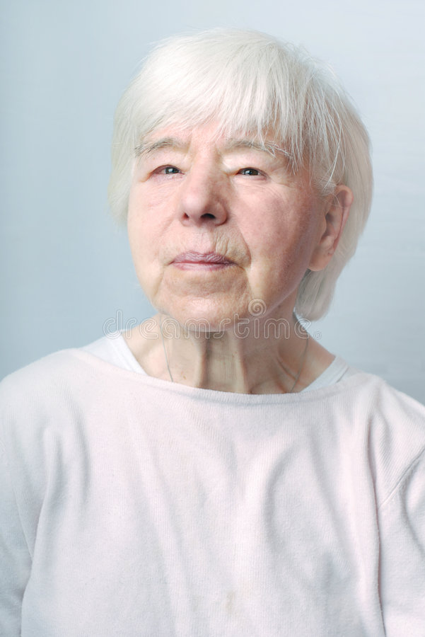 Download Grandmother portrait stock image. Image of mature, face - 4901893