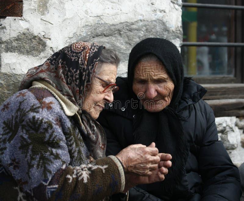 Grandmothers royalty free stock image