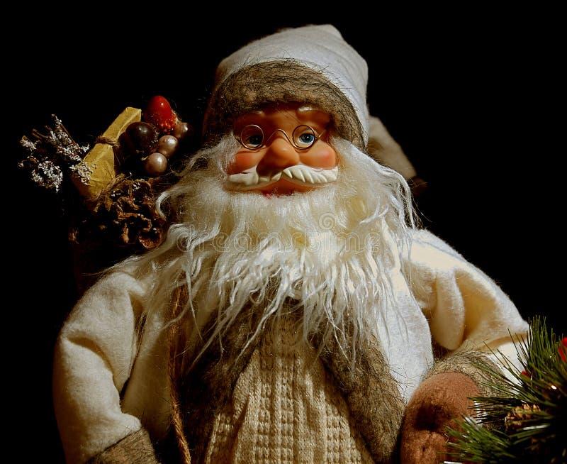Grandpa για τα Χριστούγεννα στοκ φωτογραφία