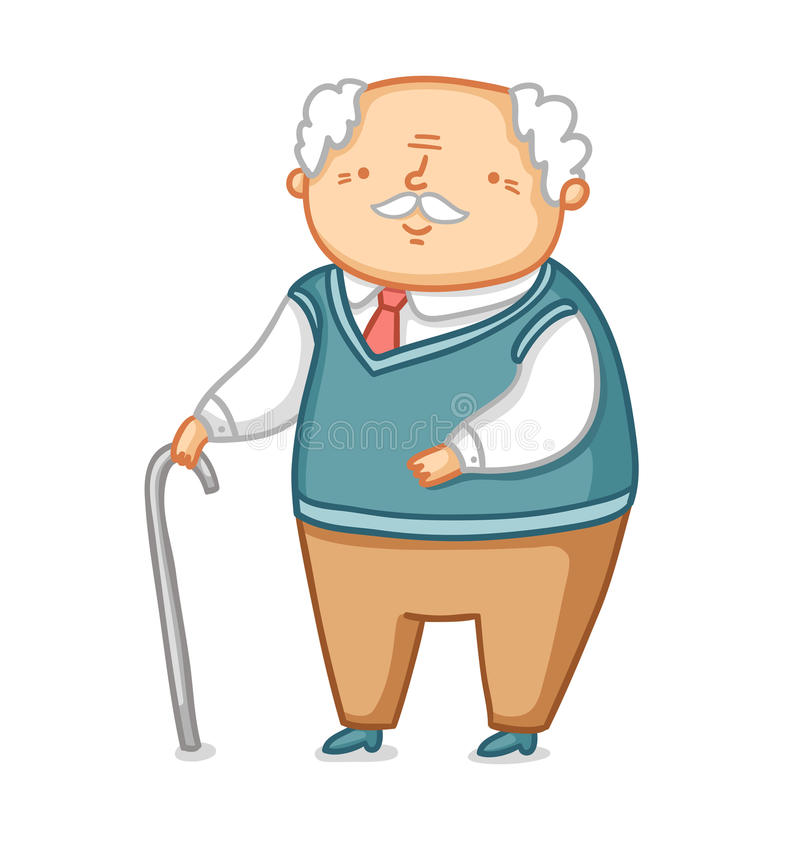 Grandpa απεικόνιση αποθεμάτων