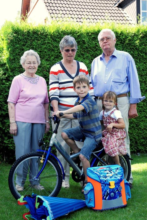 grandparents fotografie stock libere da diritti