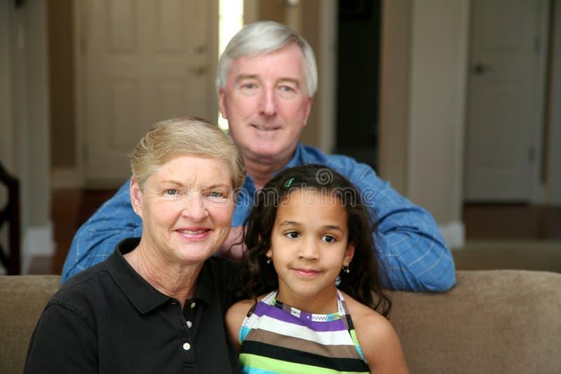Download Grandparents stock photo. Image of grandparent, families - 4911752
