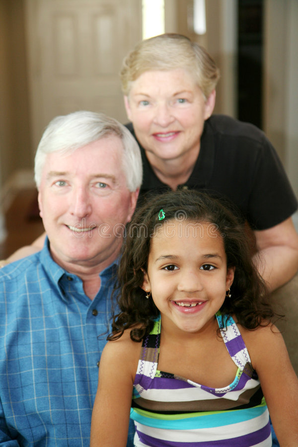 Download Grandparents stock image. Image of family, confident, mother - 4961007
