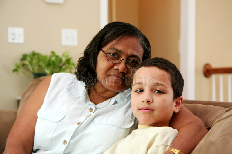 Grandparents royalty free stock photography