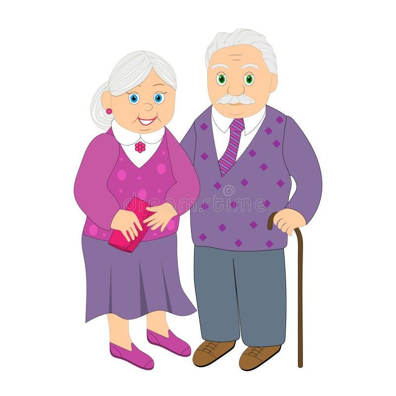 Бабушки и дедушки из мультиков в картинках