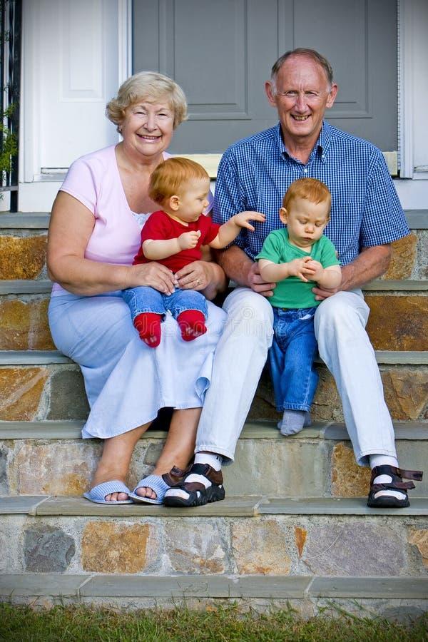 Grandparents royalty free stock photos