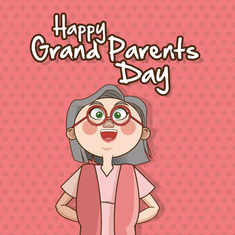 Grandparents design. Grandparents concept with old people design, vector illustration 10 eps graphic vector illustration