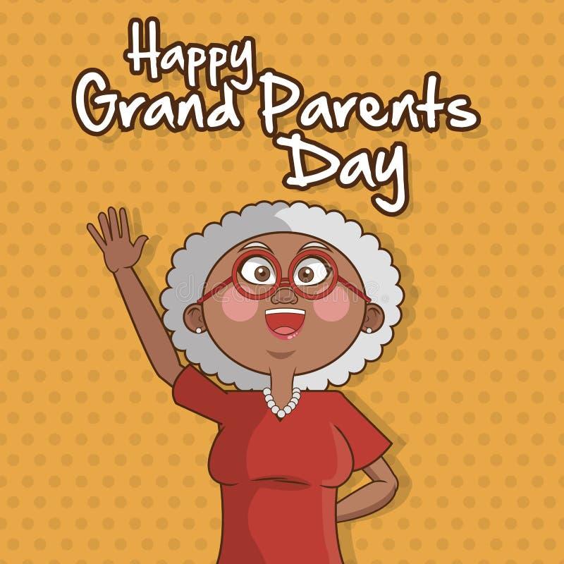 Grandparents design. Grandparents concept with old people design, vector illustration 10 eps graphic vector illustration